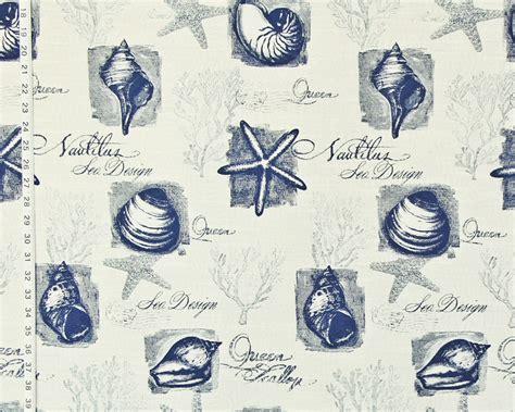 Coastal Fabrics For Upholstery by Coral Starfish Upholstery Fabrics New Decor