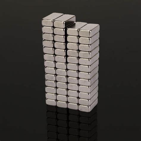 Magnet Neodymium Block 10mm X 5mm X 3mm 50pc 50pcs n48 strong block magnets 10mm x 5mm x 3mm earth neodymium magnets alex nld