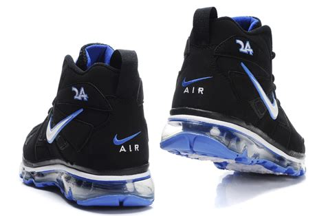 white and blue nike basketball shoes nike air max griffey fury blue black and white basketball