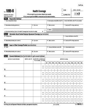 1095a Form 2017 Printable