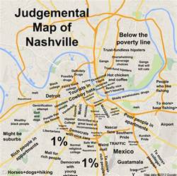 Judgemental Map Judgmental Maps Nashville Tn By Copr 2014