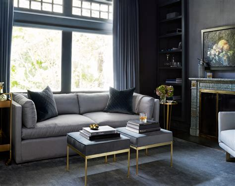 Grey And Black Chair Design Ideas Before After A Gentleman S Decorating Lonny