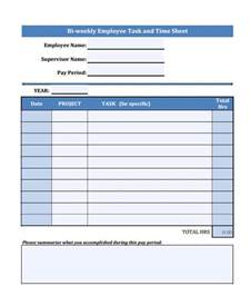 Task Template by 15 Task Sheet Template Free Sle Exle Format