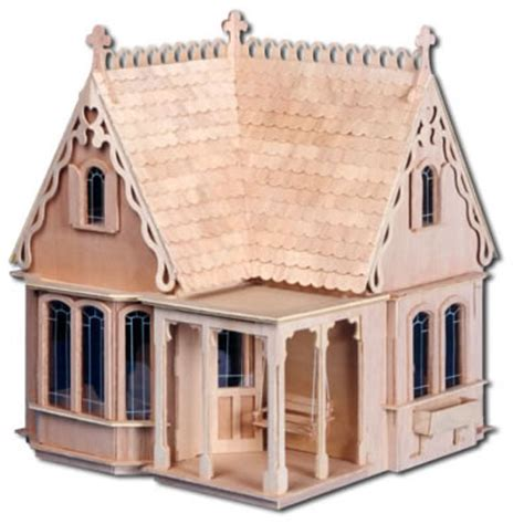 extreme doll houses coventry cottage dollhouse kit