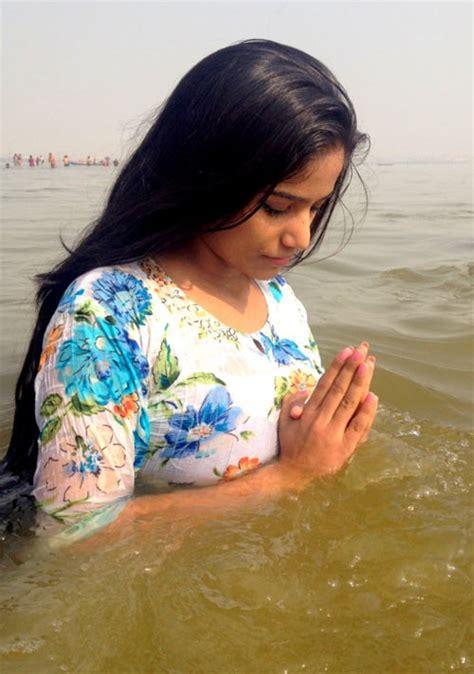 indian girl bathing in bathroom poonam pandey takes a dip at the kumbh mela rediff com