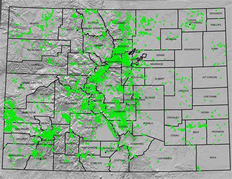 map of colorado gold maps colorado geological survey