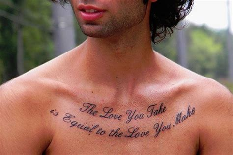 tattoo on chest quotes 28 intriguing chest tattoo quotes tattoo ideas