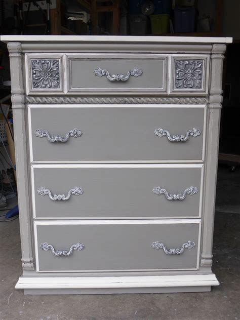 hometalk sophisticated grey painted dresser