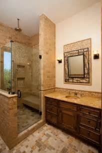 Tuscan tile bathroom counters on a budget home improvement home