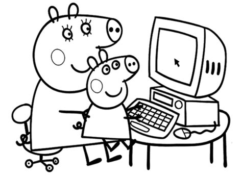 peppa pig valentines coloring pages pipsa 228 itipossun kanssa v 228 rityskuva
