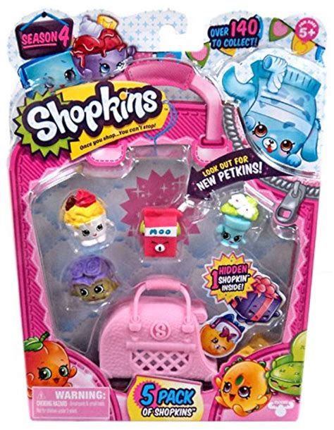 Firgure Shopkins Season 6 Seri A best gifts and toys for 5 year favorite top gifts