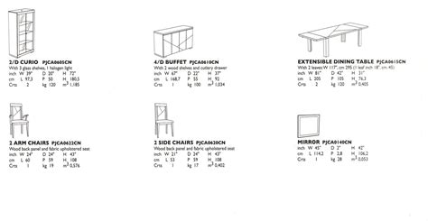 Dining Room Buffet Measurements Dining Room Buffet Dimensions 187 Gallery Dining