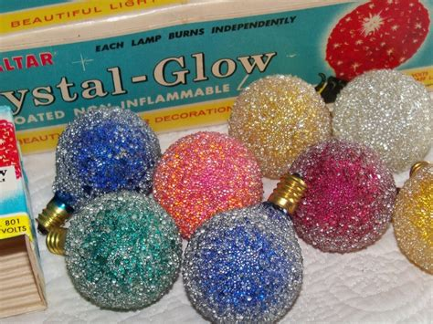 vintage snowball light bulbs for christmas lights
