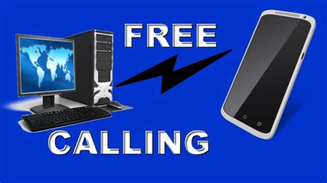 free calling from pc to mobile make free call from pc to any mobile number without