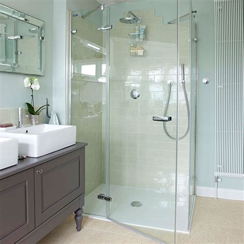 Bathroom Makeovers Country Style Walk In Shower Be Inspired By This Country Style