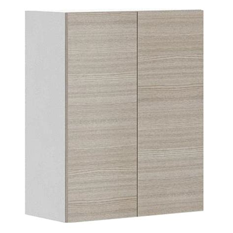 Melamine Kitchen Cabinet Doors Fabritec Ready To Assemble 24x30x12 5 In Geneva Wall Cabinet In White Melamine And Door In