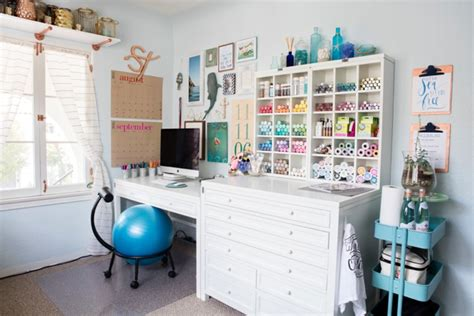 Craft Room Furniture by Check Out Jen From Something Turquoise S New Craft Room