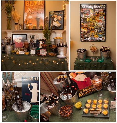 Beer Themed Events | a charming affair cheers a beer tasting