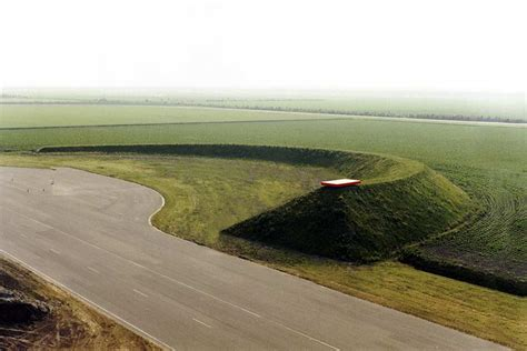 land art in lelystad netherlands aerial photo by the
