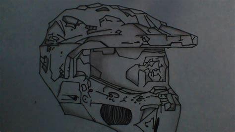 imagenes de halo para dibujar a lapiz como dibujar el casco de master chief halo youtube