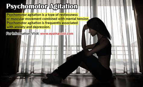 motor agitation psychomotor agitation and or psychomotor retardation