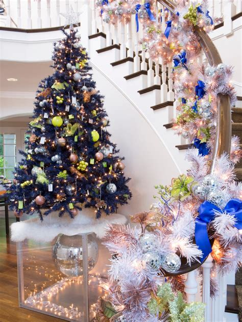 christmas trees at wilkinsons step inside kendra wilkinson s home for the holidays hgtv