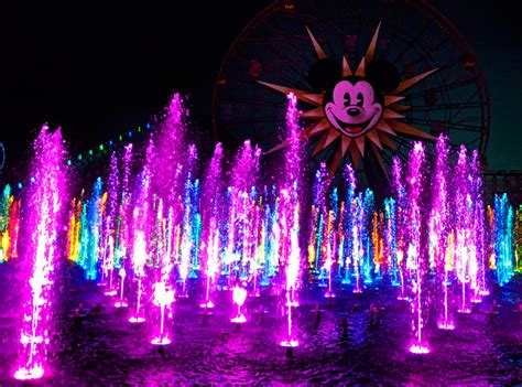 world of color blue section world of color refurbishment continues innovative