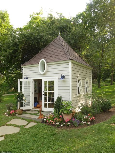 women  ousting men  man caves  create  sheds