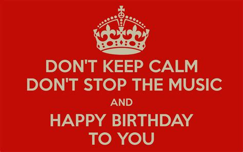 Birthday Song Quotes Musician Birthday Quotes Quotesgram