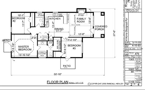 One Story House Floor Plans by Small One Story House Plans Simple One Story House Floor