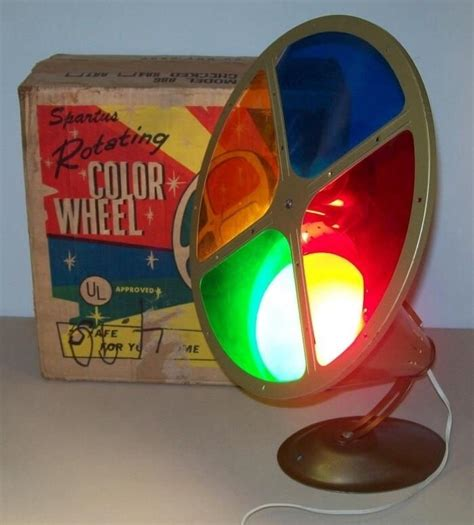 Color Wheel For Aluminum Christmas Trees Old Time Aluminum Tree With Color Wheel Light