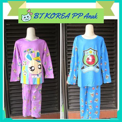 distributor baju tidur korea anak karakter murah mulai