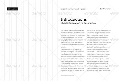 corporate identity manual template corporate identity manuals and guides template by afahmy