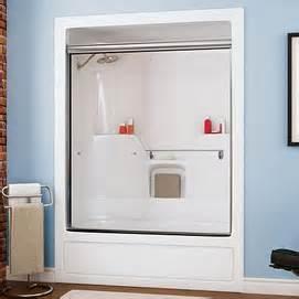 3 panel tub shower doors maax 174 sky 2 panel frameless clear tempered glass tub