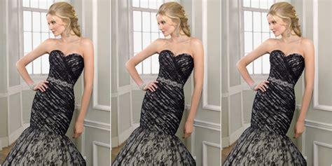 Mermaid Vest Baju Import Bangkok 7 gaun pengantin keren berwarna hitam supplier baju