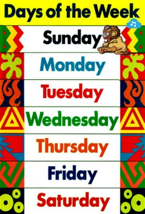 download days of the week song for kids for android by