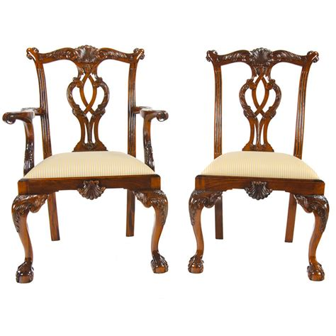 chippendale chairs philadelphia chippendale chairs set of 10 niagara furniture