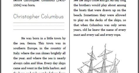 christopher columbus biography for middle school free christopher columbus mini unit workbook this is