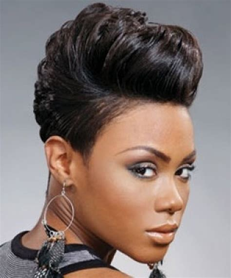 Short Barber Hair Cuts On African American Ladies | black short hairstyles for african american women