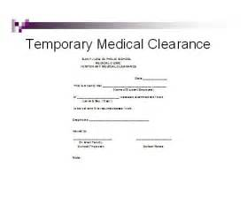 clearance for surgery template and dental clinic