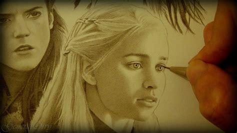 Drawing Game Of Thrones Arya Sansa Catelyn Ygritte | drawing game of thrones arya sansa catelyn ygritte