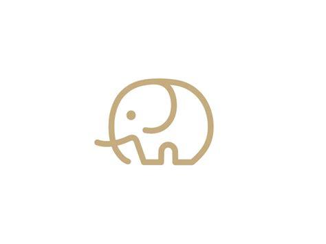simple tattoo logo minimalist elephant logo helena strategy pinterest