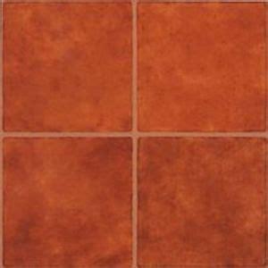 mintcraft 8101248 case 45 terra cotta 12 x 12 vinyl floor tile self adhesive