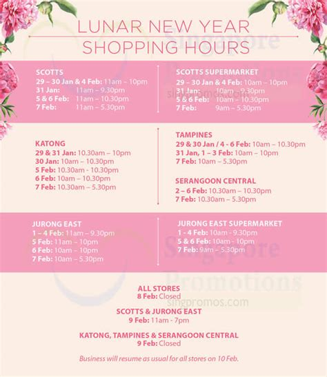 isetan new year isetan new year opening hours 29 jan 7 feb 2016