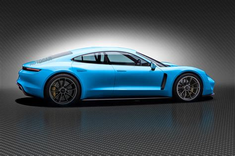 new porsche electric porsche mission e new pictures of ev during cold weather