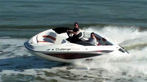 motor boat challenge wakeboarding behind seadoo challenger 180 youtube