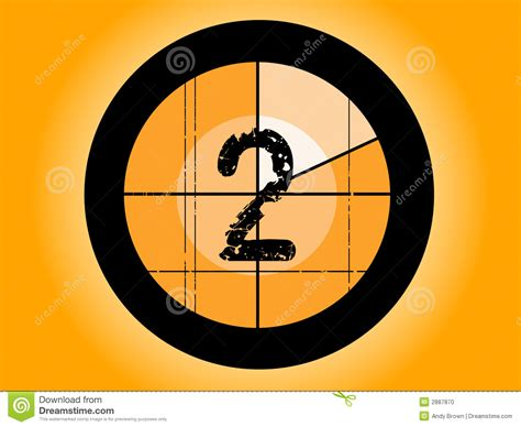 A Shoey Countdown Number 2 by Orange Countdown At 2 Stock Photo Image 2887870