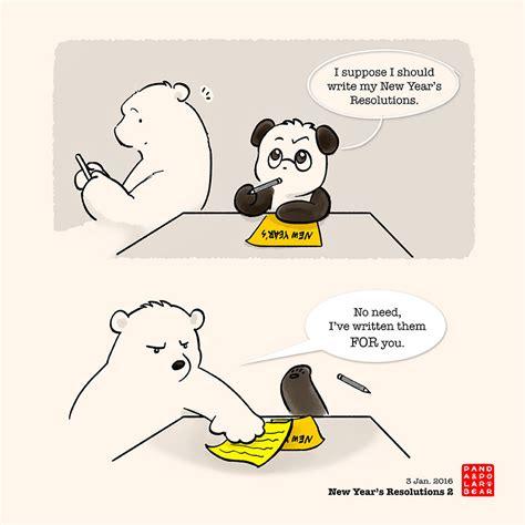 new year s resolution 2 panda and polar