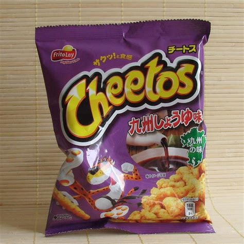 Japans New Snack Strawberry Cheetos by Cheetos Kyushu Soy Sauce Napajapan