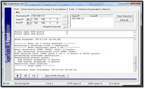 port scan tools port scanners